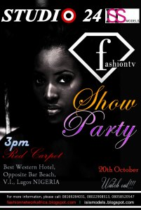 FASHION TV SHOW AND PARTY BY STUDIO 24 AND ISIS MODELS